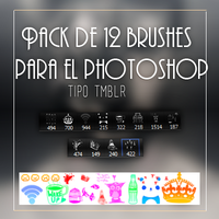 +Pack de BRUSHES!!!!! by AtziryChIcK
