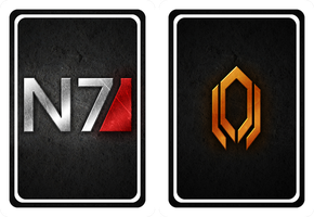 Mass Effect cards back_V2 by NoAng3l