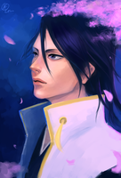Kuchiki Byakuya by CitrusGun