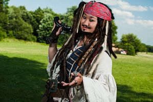 Captain Jack Sparrow - On Stranger Tides by SweeneyT-DemonBarber