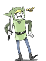 Adventure Time/LoZ by KingCheddarXVII