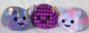 Purple Puff Puggles by callykarishokka