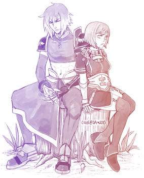 Albel and Nel by Czhe
