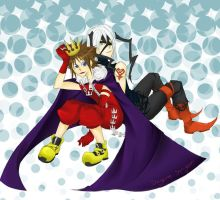 King and Heartless by Daytime-Shinigami