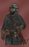 Half-orc for hire by Konquistador