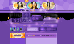 Layout ft. Victoria Justice by PixxLussy