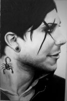 Frank Iero (My Chemical Romance) by holllowpointsmile