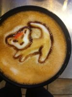 Simba Latte by Coffee-Katie