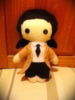 Castiel Plushie (Supernatural) by jasmineofderpsalot