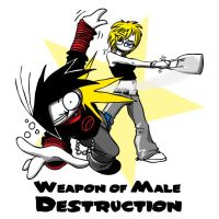 Weapon of Male Destruction by GardHelset