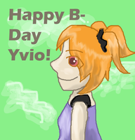 Happy Birthday Yvio! by Ashenjay
