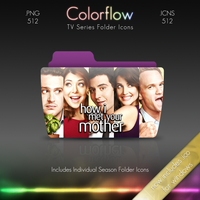 Colorflow TV Folder Icons: How I Met Your Mother by Crazyfool16