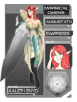 EO: Dragon Empress Kaleth Enyo by NeoroticMind