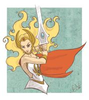 For The Honour of Greyskull by Neale