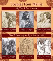 The Couples Meme by SerenaVerdeArt
