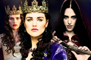 Queen Morgana by MagicalPictureMaker