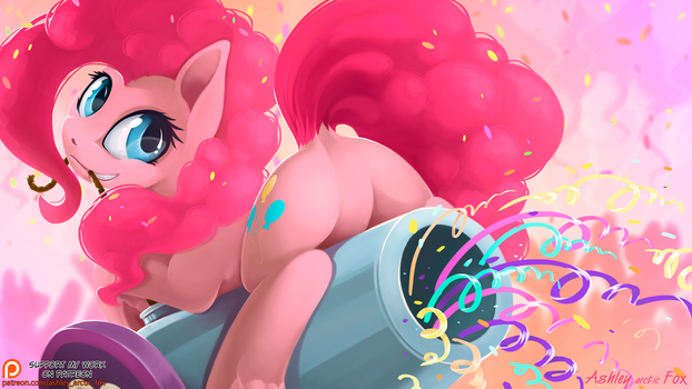 PinkiePie 2016 by Ashley-Arctic-Fox