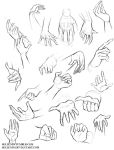 Hands reference by Sellenin