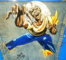 Embroidered Eddie by ladytech