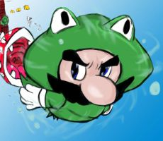 Mario is feelin' froggy by themdspecial