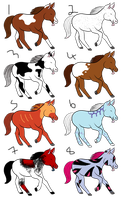 Mystery Horse Adoptables {Closed} by Shadowed-Adoptables