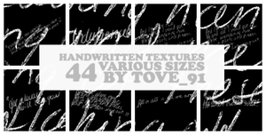 44 handwritten various sizes by Tove91
