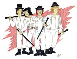 Alex and His Droogs by EmperorNortonII