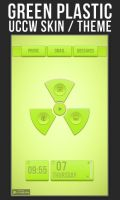 Green Plastic UCCW SKIN THEME by 8168055