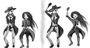 Skulduggery and Valkyrie Style ! by UrbanStar
