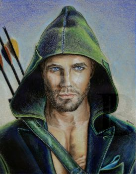 Green Arrow by skepticmeek