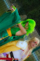 Rydia and Rosa 2 by LittleRikku91