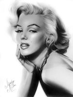 MARILYN MONROE by Unoki