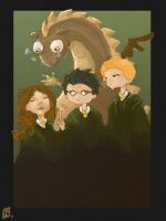 Harry Potter by Tifaerith