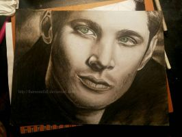 Dean Winchester (christmas gift for a friend) by TheMoonfall