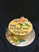 Day lily cake by BrightlyWound455