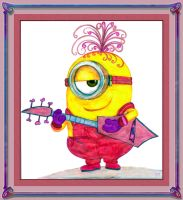 Minion Musician by fmr0