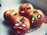 angry apples by Kramilla