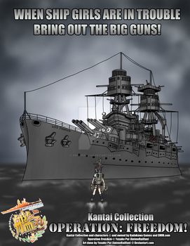 Kantai Collection: Operation Freedom Poster #1 by AnimeRailFan