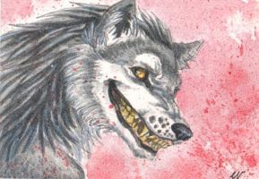 Grin ACEO by Sulka