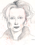 Tilda Swinton by miracledrug
