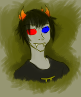 Livestream speedsketch: Sollux by SanchaySquirrel