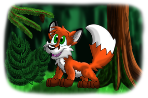 Fredericks adventure in the forest by Hukley