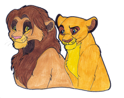 Cedric and Nyota by Tayarinne