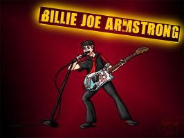 Billie Joe Armstrong by cheddarpaladin