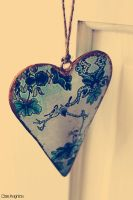 Vintage Heart by Clerdy