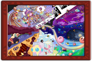 Kirby Canvas Curse by Piranhartist