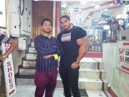 Musclemorphed Desi Hunk7 by free42dream