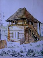 Traditional House Detail 1 by BluPaint