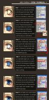 Eyes Tutorial +anime style+ by raykit