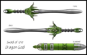 Sword of the Dragon God by Sathiest-Emperor